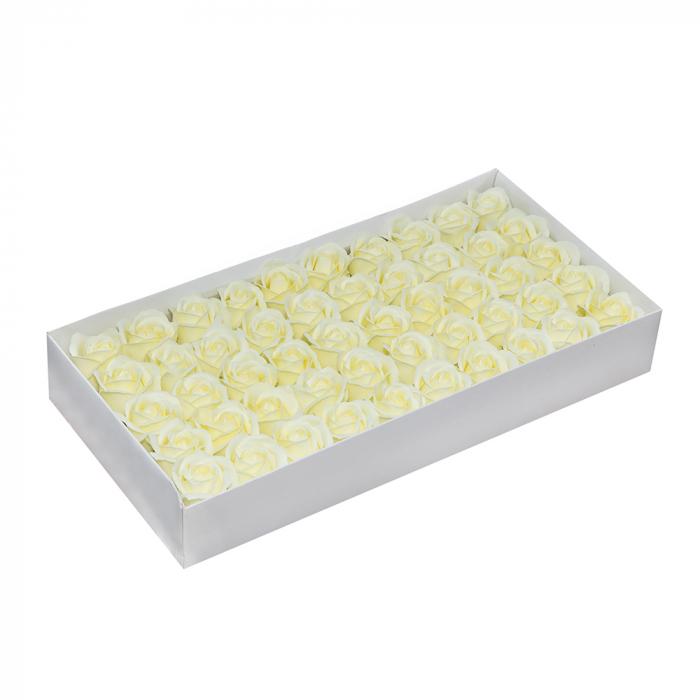 Trandafiri sapun alb ivoire [0]