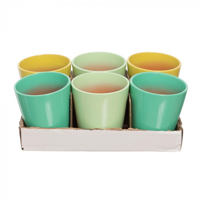 Vase ceramica orhidee mix verde [0]