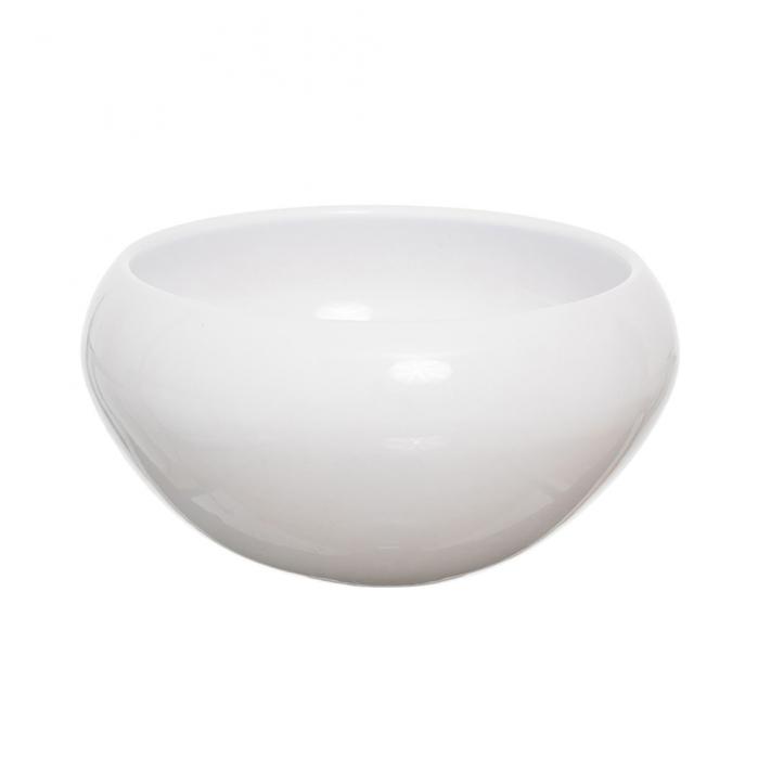 Vas ceramic rotund alb [0]