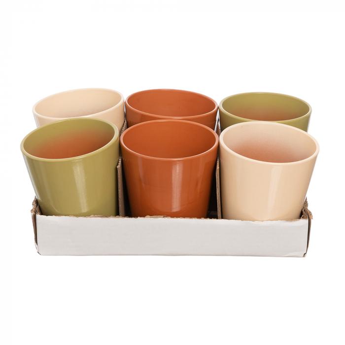 Vase ceramica orhidee mix maro [0]