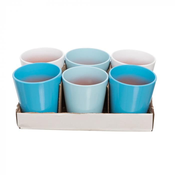 Vase ceramica orhidee mix albastru [0]