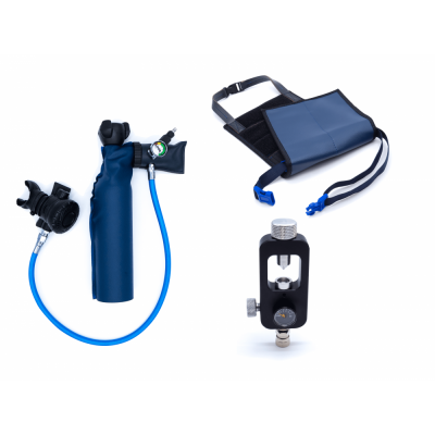 MiniDive Pro (0,5 L) + Yoke  Filing station + Harness0