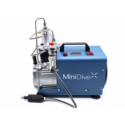 MiniDive Pro+ (0,8 L) + MiniComp + Harness + 3 Tanks (0,8 L) + Accessories5