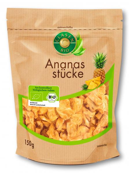 Ananas bio uscat Clasen Bio [0]