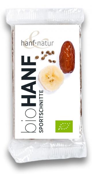 Baton sport cu seminte de canepa bio Hanf & Natur [0]
