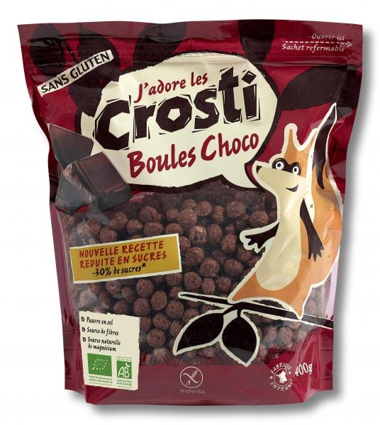 Bilute expandate bio cu ciocolata Crosti [0]