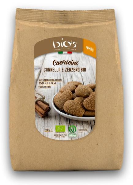 Biscuiti bio inimioare cu ghimbir si scortisoara Bio's [0]