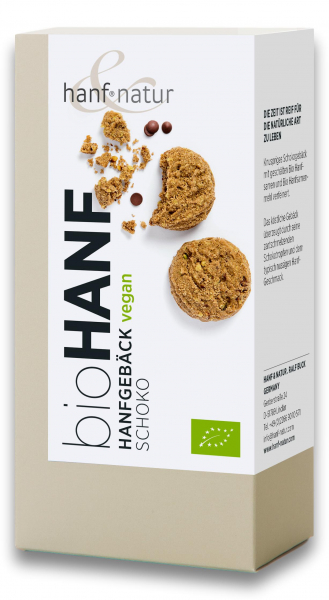 Biscuti cu ciocolata si seminte de canepa bio Hanf & Natur [0]