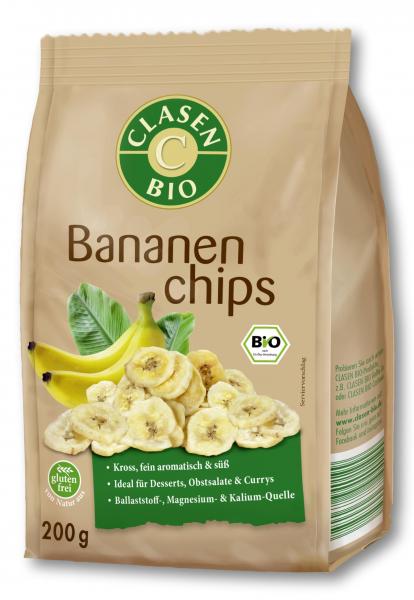 Chipsuri din banane bio Clasen Bio [0]