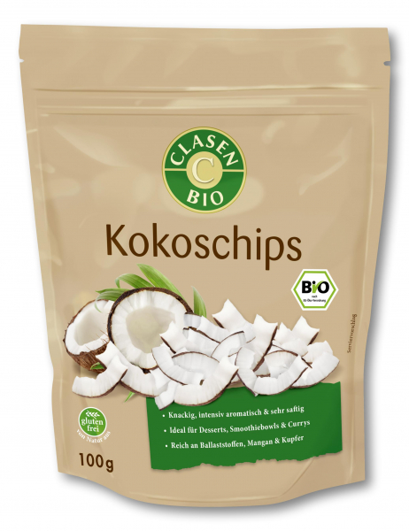 Chipsuri din cocos bio Clasen Bio [0]