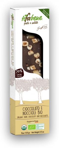 Ciocolata bio cu 74% cacao si alune de padure Tifabene [1]