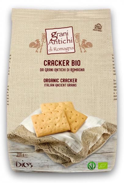 Crackers bio din grau antic, sare de Cervia si ulei masline Grani Antichi [0]