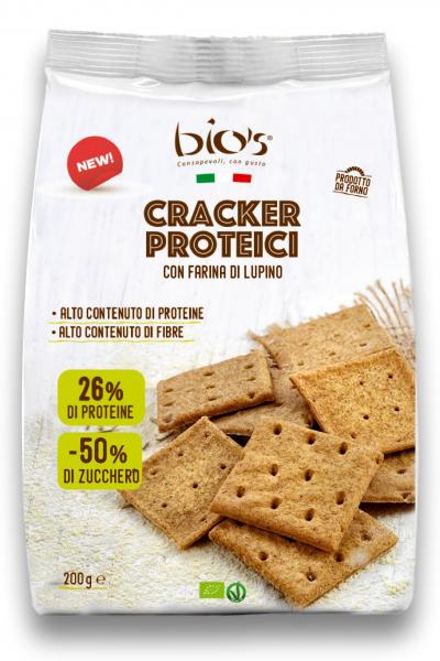 Crackers proteic bio din faina lupin, faina spelta si sare de Cervia Bio's [0]