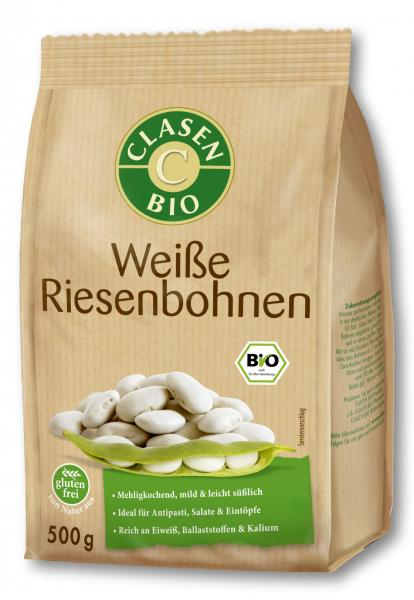 Fasole alba gigant bio Clasen Bio [0]