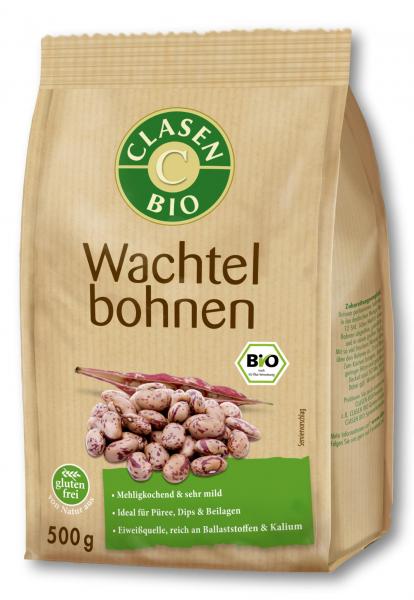 Fasole pestrita bio Clasen Bio [0]