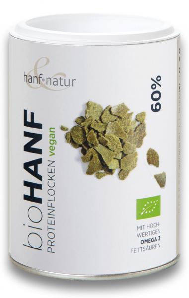 Fulgi de canepa bio cu 60% proteina Hanf & Natur [0]