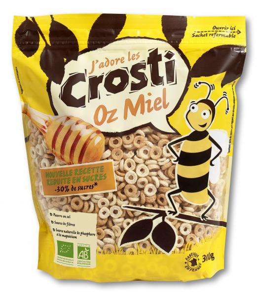 Ineluse expandate bio cu miere Crosti [0]