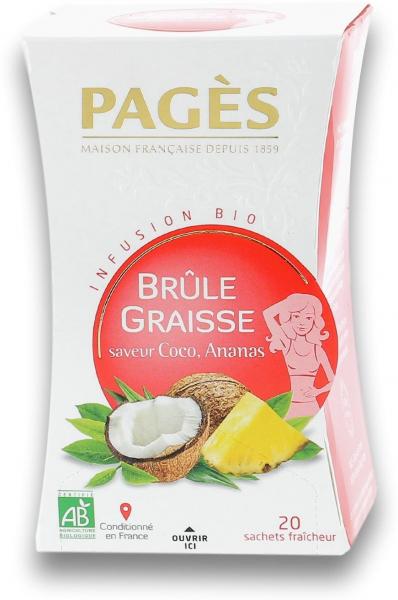 Infuzie bio arderea grasimilor (cocos, ananas) Pages [0]
