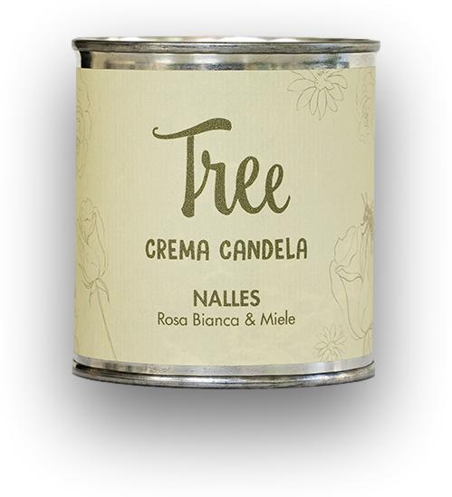 Lumanare si Crema Parfumata Nalles Tree(parfum de trandafir alb si miere)Tree [0]