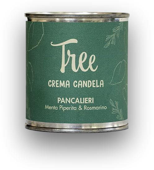 Lumanare si Crema Parfumata Pancalieri Tree(parfum de rozmarin si menta)Tree [0]