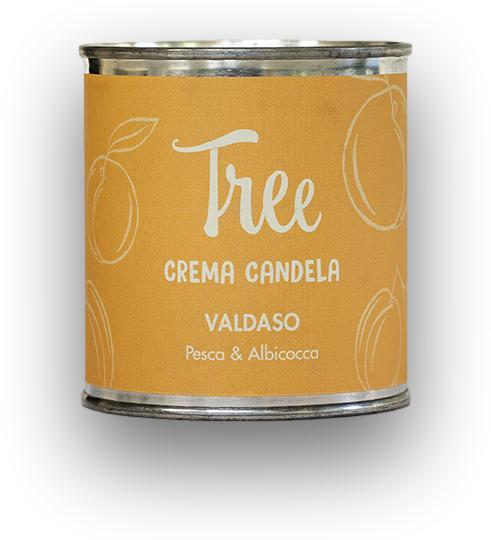 Lumanare si Crema Parfumata Valdaso Tree(parfum de piersici si caise)Tree [0]