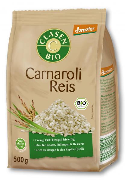 Orez carnaroli bio demeter Clasen Bio [0]