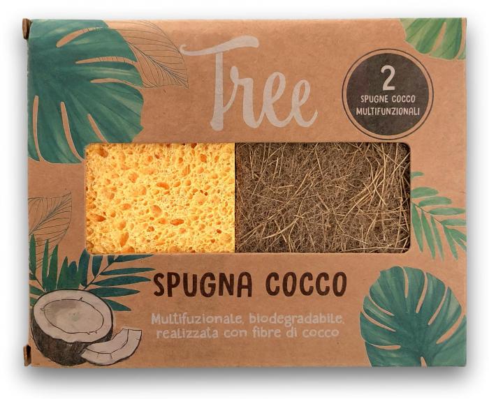 Pachet 2 Bureti Multifunctionali din fibra de cocos Tree [0]