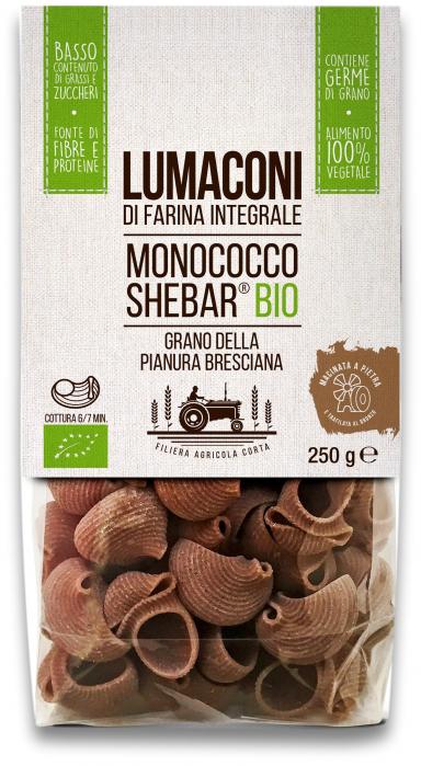 Paste lumaconi bio din grau alac Shebar® Tradizioni Padane [0]