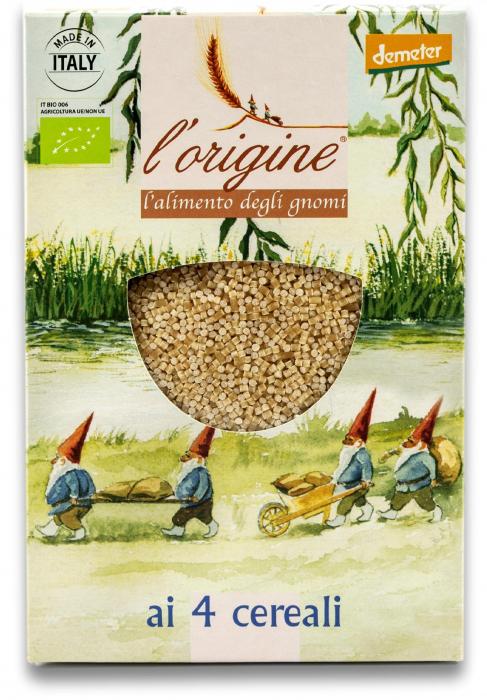Paste pentru supa, bio demeter 4 Cereale  Tradizioni Padane [0]
