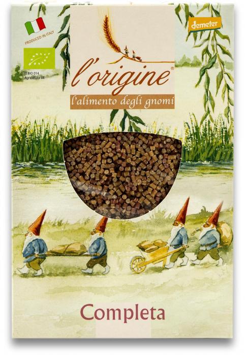 Paste pentru supa, bio demeter Completa din grau dur si legume  Tradizioni Padane [0]