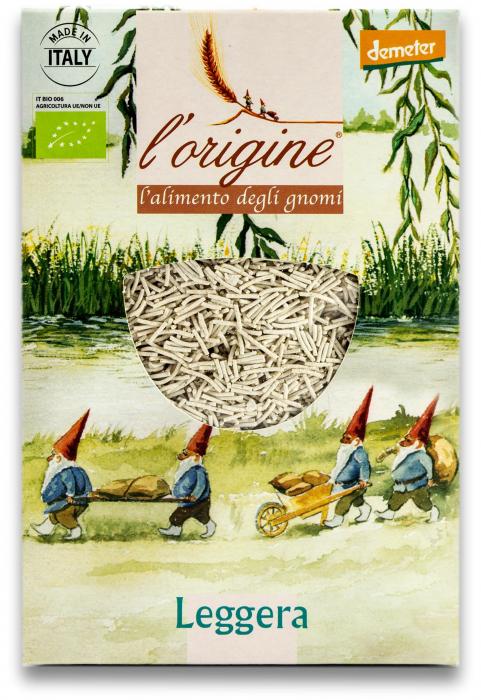 Paste pentru supa, bio demeter Leggera din grau dur si legume  Tradizioni Padane [0]