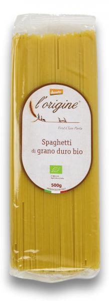Paste spaghete bio demeter din grau dur L'origine [0]