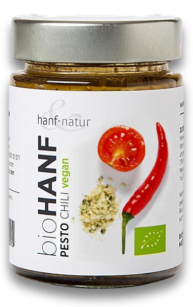Pesto din canepa si chili bio Hanf & Natur [0]