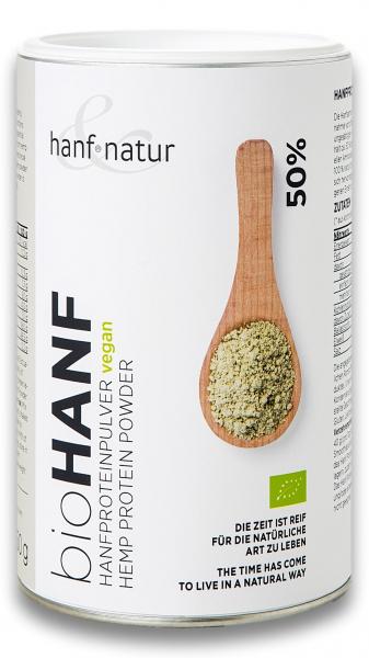 Pulbere de canepa bio cu 50% proteina gramaj mare Hanf & Natur [0]