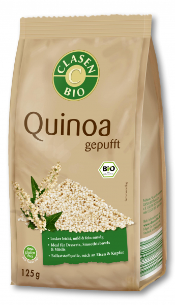 Quinoa bio expandat Clasen Bio [0]