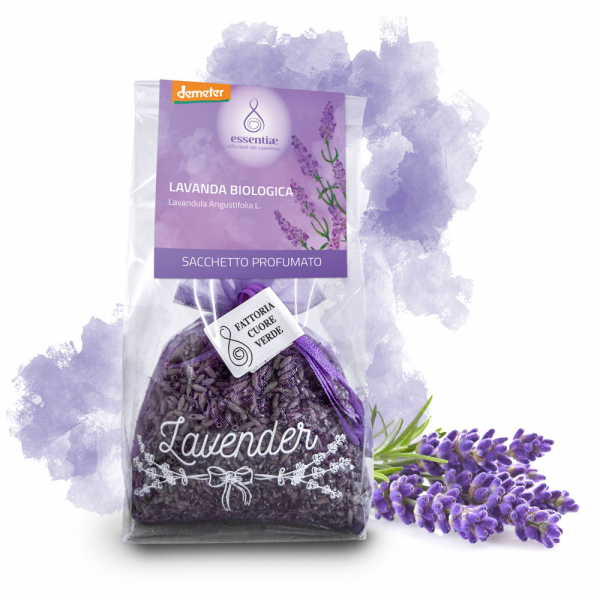 Saculet parfumat cu lavanda bio demeter Essentiae [1]