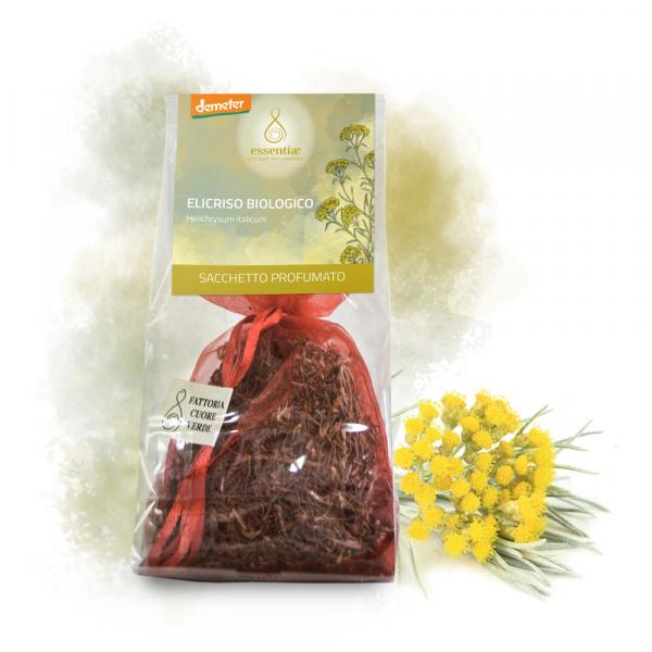 Saculet parfumat Floare de Paie bio demeter Essentiae [1]