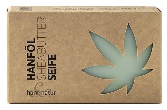 Sapun vegetal din ulei de canepa si unt de shea Hanf & Natur [0]