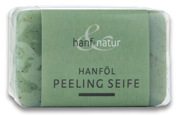 Sapun vegetal exfoliant din ulei de canepa Hanf & Natur [0]