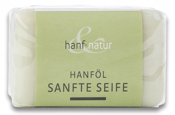 Sapun vegetal fin din ulei de canepa Hanf & Natur [0]