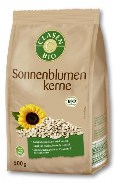 Seminte crude de floarea soarelui bio Clasen Bio [0]