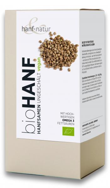 Seminte de canepa intregi bio Hanf & Natur [0]
