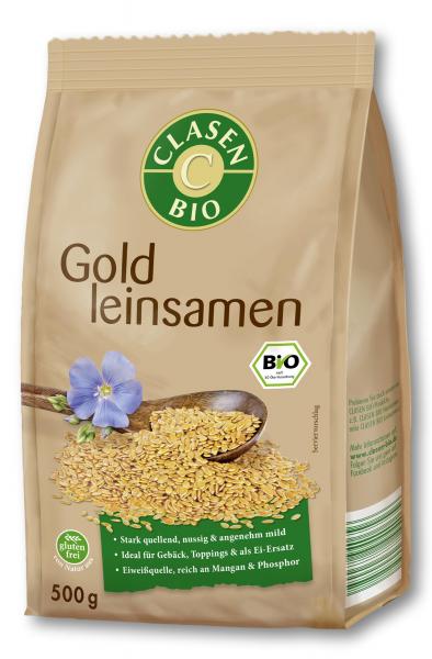 Seminte de in aurii bio Clasen Bio [0]