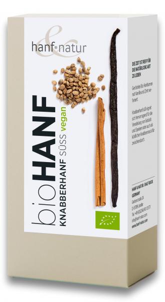 Snack bio dulce din seminte de canepa bio cu vanilie Hanf & Natur [0]
