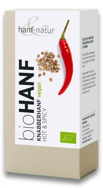 Snack din seminte de canepa bio picant Hanf & Natur [0]