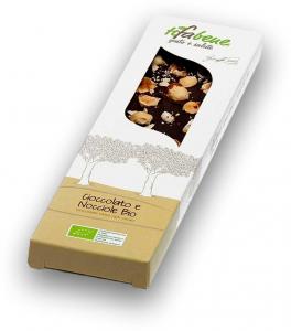 Ciocolata bio cu 74% cacao si alune de padure Tifabene [0]