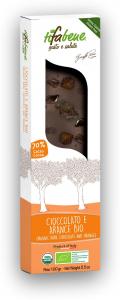 Ciocolata bio cu 74% cacao si portocale Tifabene [1]