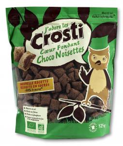 Pernute bio cu ciocolata si alune Crosti