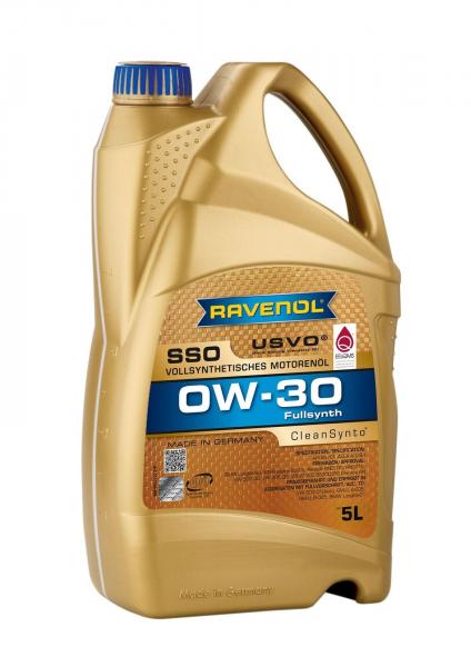 Ravenol SSO 0W30 USVO - 5L (Subaru, Renault, Honda, Mitsubishi, Suzuki, Toyota)