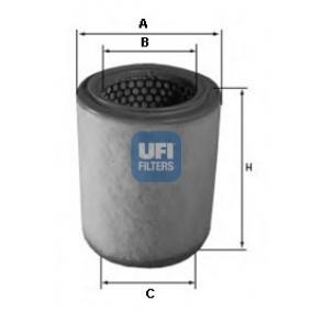 FILTRU AER UFI 27.592.00 0